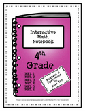 Interactive Math Notebook / Journal - 4th Grade - (Numbers