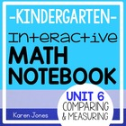 Interactive Math Notebook for Kindergarten {Unit 6: Compar