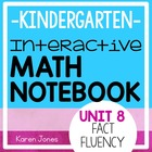 Interactive Math Notebook for Kindergarten {Unit 8: Fact Fluency}