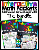 Interactive Math Packet -The Bundle  (Addition and Subtrac
