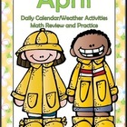 Interactive Math and Calendar Journal...April