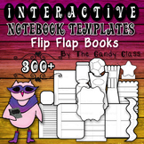 Interactive Notebook Templates 300+ Flip Flap Books (Comme