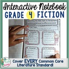 Interactive Notebook: 4th Grade Reading Literature {Cover