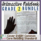 Interactive Notebook Bundle: 2nd Grade {Cover ALL CCSS RL