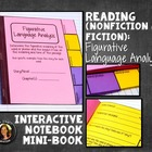 Interactive Notebook: Figurative Language Analysis Mini Book