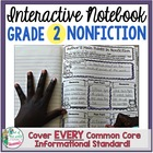 Interactive Notebook: Grade 2 Reading Informational {Cover