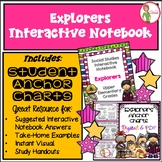 Interactive Notebook / Journal - EXPLORERS - Social Studie