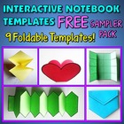 Interactive Notebook Templates - FREE Sampler Pack - 9 Templates