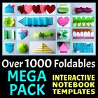 Interactive Notebook Templates MEGA PACK - Over 1000 + Templates