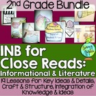 Interactive Notebook for Close Reads Bundle: 2nd Grade