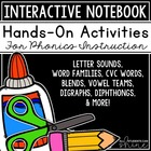 Interactive Phonics Notebook - Fun Activities For Your Pho