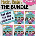 Interactive Phonics Readers  ~  Long Vowel BUNDLE