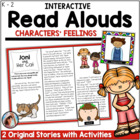 Interactive Read Alouds for Character Feelings/Emotions 2
