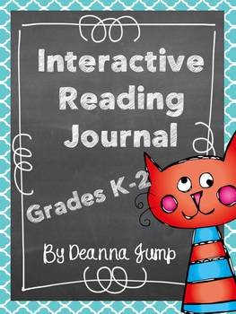 Interactive Reading Journal Notebook for K-2 {Common Core Aligned}