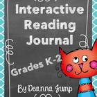 Interactive Reading Journal Notebook for K-2 {Common Core