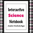 Interactive Science Notebook Pages