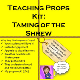Interactive Shakespeare: Taming of the Shrew Teaching Props Kit