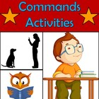 Interactive Spanish Commands Activities including Notes, D