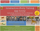 Interactive Story Telling, Writing & Movie Making iPad App