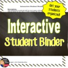 Interactive Student Notebook  - Directions &amp; Rubric