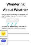 Interactive Weather  Book