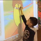 Interactive Whiteboard Art Game ~ Build a Face for Kindergarten