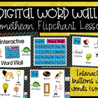 Interactive Word Wall Promethean Flipchart Lesson