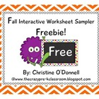 Interactive Worksheet Freebie!