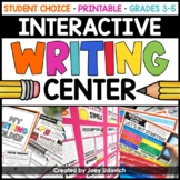 Interactive Writing Center: Grades 3-6