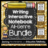 Interactive Writing Notebook: All Genre Bundle