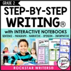 Interactive Writing Notebook Grade 2 with ALL Common Core