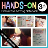 Interactive Writing and Grammar Notebook Hands-On Third Gr