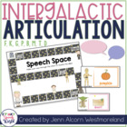 Intergalactic Articulation for Speech Therapy:  /f, k, g,