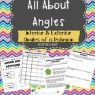 Interior &amp; Exterior Angles of Polygons