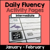 "Intermediate ""Daily Fluency"" Activity Pack (January - February)"