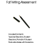 Intermediate Grade Fall Writing Assessment