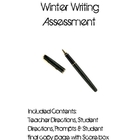 Intermediate Grade Winter Writing Assessment