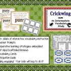 Intermediate Vocabulary Study (Explicit Instruction): Crickwing
