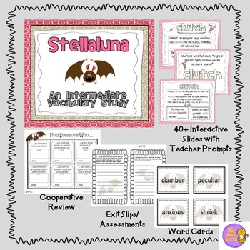 Intermediate Vocabulary Study (Explicit Instruction):  Stellaluna
