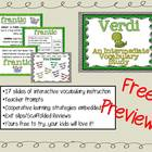 Intermediate Vocabulary Study (Explicit Instruction): Verd