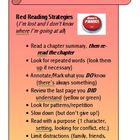 Intermediate to Hard Reading Strategies - Bookmarks