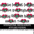 International Baccalaureate Attitude Posters
