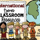 International Theme Pack from Teacher's Clubhouse