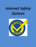 Internet Safety Quizzes for 3rd - 6th Grades