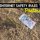 Internet Safety Rules Posters