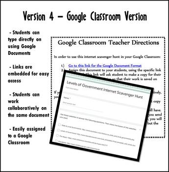 Internet Scavenger Hunt Packet - Second Grade