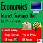 Internet Scavenger Hunt - Third Grade Economics