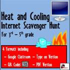 Internet Scavenger Hunt - Third Grade Heat