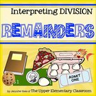 Interpreting Division Remainders - Hands-On Centers, Task