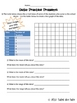 Interpreting Graphs Practice Sheets